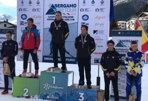 Sci nordico, medaglia d'argento per Martino Carollo nella Sprint dei Campionati Italiani Under 18