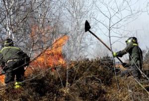 Dichiarato lo stato di massima pericolosità per incendi boschivi in tutto il Piemonte