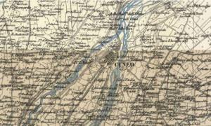 Grazie al Google Maps del passato è possibile vedere com'era la Cuneo dell'800