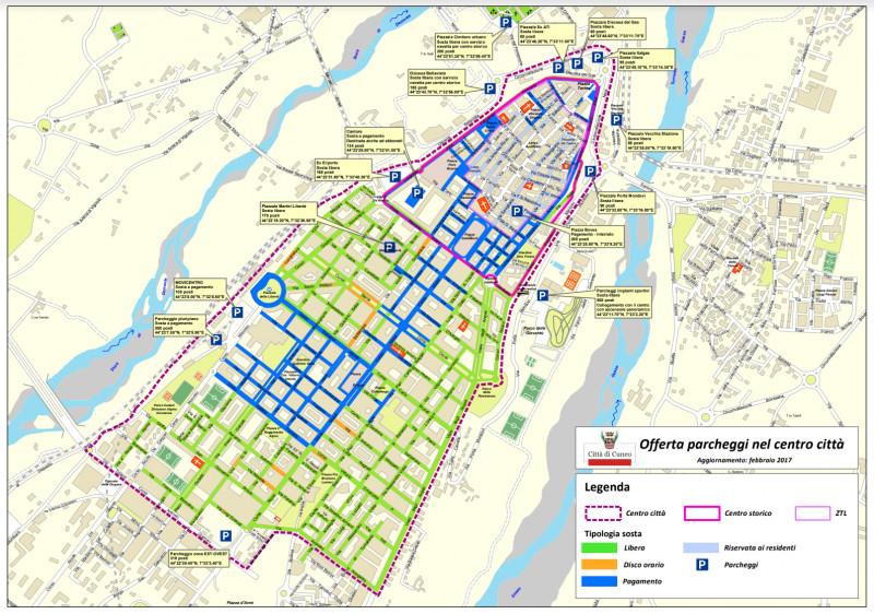 Parcheggi in Cuneo Centro, il comitato di quartiere incontra l'amministrazione comunale