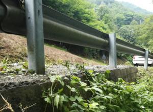 Sulla strada del colle dell'Agnello saranno realizzati due chilometri di barriere di sicurezza