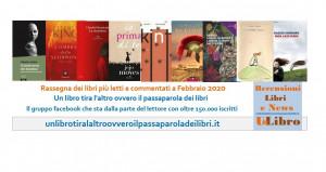 'Un libro tira l'altro': ecco i libri più letti e commentati del mese di febbraio