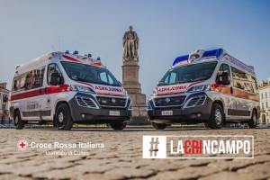 La Croce Rossa di Cuneo avvia una raccolta fondi online