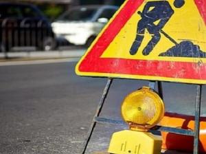 Lavori di asfaltatura lungo la provinciale 7 alle rotatorie di Pollenzo e Roddi