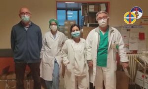Cuneo, l'ospedale Santa Croce ai donatori: 'La generosità ci sta travolgendo'