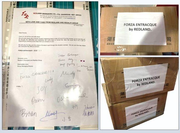 L'imprenditore entracquese emigrato in Thailandia regala 10mila mascherine al suo paese d'origine