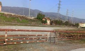 Busca, chiusa la zona del deposito ferroviario