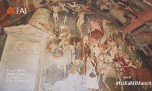 Manta, il FAI porta i visitatori alla scoperta 'virtuale' degli affreschi di santa Maria del Castello