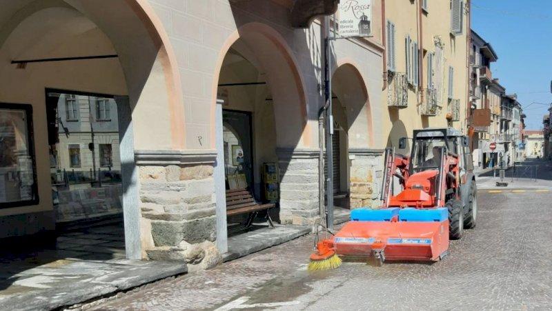 A Busca la pulizia annuale delle strade comunali