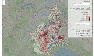 Coronavirus, nella mappa della Regione sui contagi qualcosa non quadra: i Comuni vogliono vederci chiaro