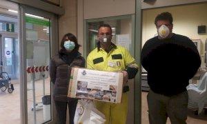 Castelletto Stura, la Protezione Civile ha donato 3.700 euro all'ospedale di Cuneo