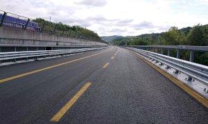 Trasporti, domani riapre al traffico il viadotto Mollere sud sulla Torino-Savona