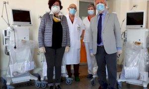 Saluzzo, quattro nuovi ventilatori polmonari per combattere il Coronavirus