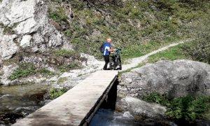 Ripristinato l'anello delle cascate in alta valle Pesio
