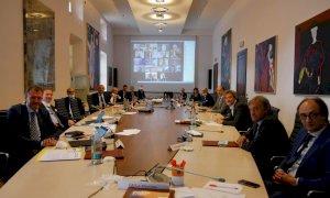 Anche i vertici di UBI alla prima riunione operativa del nuovo Consiglio Generale della Fondazione CRC