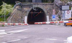 Il tunnel di Tenda chiude al traffico in entrambe le direzioni