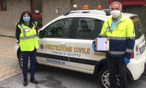 Consegnate a tutti i cittadini di Nucetto le mascherine della Regione Piemonte