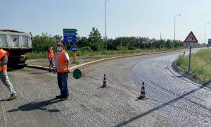 Cantieri aperti su tutte le strade provinciali per lavori di bitumatura