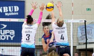 Volley, colpo della Bosca San Bernardo: dalla Polonia arriva la schiacciatrice greca Olga Strantzali