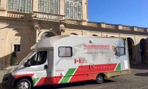 Un ambulatorio mobile per l'ospedale di Verduno, grazie all'iniziativa da record di Valerio Berruti