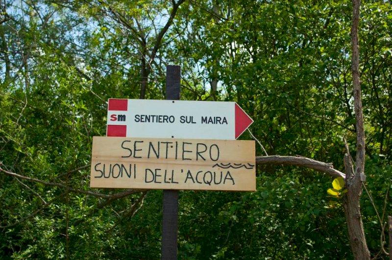 Vottignasco, completati i lavori di messa in sicurezza del sentiero sul Maira