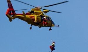Grave trauma per un mountain biker dopo la caduta ai Ciciu del Vilar