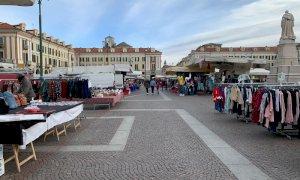 Cuneo, i banchi non alimentari del mercato del venerdì si sposteranno in piazza Galimberti