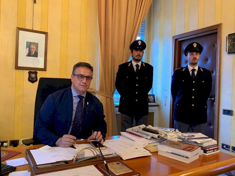 Il Questore di Cuneo, Emanuele Ricifari