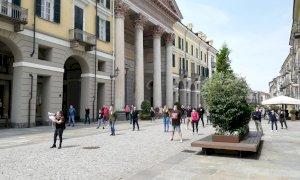 'Mascherine Tricolori' di nuovo in piazza a Cuneo: 'Ancora niente su finanziamenti e redditi di emergenza'