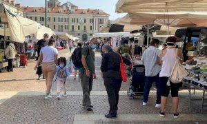 Cuneo, oggi il primo mercato del martedì post lockdown