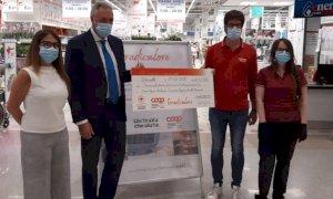 I dipendenti Coop del Piemonte hanno devoluto 62 mila euro alla Croce Rossa
