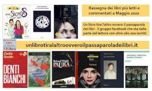 'Un libro tira l'altro': ecco i libri più letti e commentati del mese di maggio