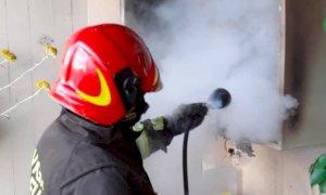 Fossano, a fuoco una caldaia in un alloggio di via Sacco