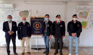 Donazione dell'associazione Nazionale Granatieri di Sardegna alla Protezione Civile