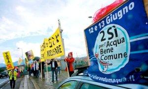 'Sorella acqua, sorella democrazia': domenica 14 la mobilitazione online