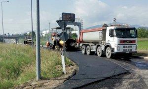 Il programma degli interventi di asfaltatura delle strade provinciali cuneesi