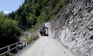 Lavori sulla provinciale 113, senso unico alternato nel tratto Ponte Marmora-Marmora-Canosio