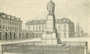 Statue contestate: anche Barbaroux rischiò di essere sfrattato dal salotto di Cuneo