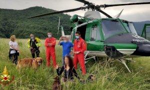 Pezzolo Valle Uzzone, salve due escursioniste bloccate in una scarpata con i loro cani