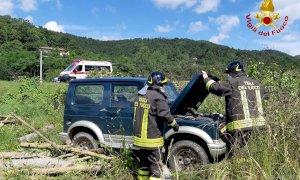 Bagnasco, incidente tra auto e furgone lungo la Statale 28
