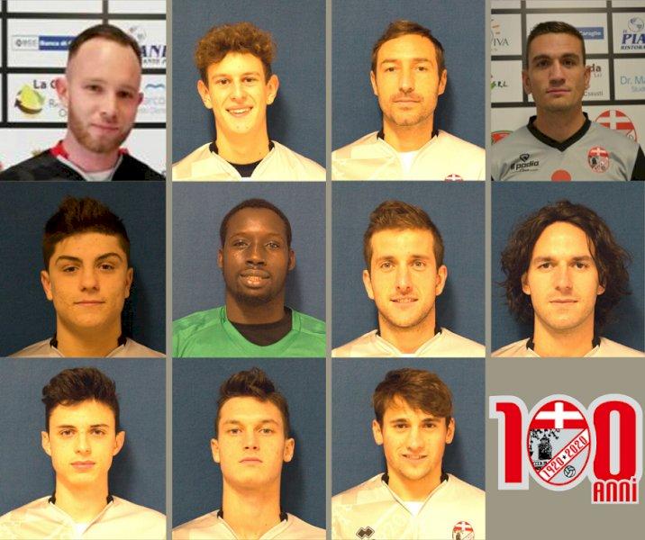Calcio, undici conferme ufficiali per il Busca 1920 in Promozione