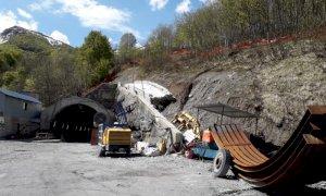 Tenda bis, sono ripresi gli scavi: i lavori ripartiti sul versante italiano