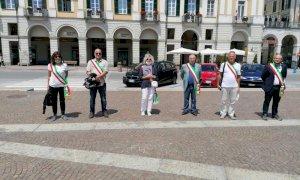 In scena a Cuneo la protesta dei sindaci anti-5G: 'Tuteliamo la salute dei cittadini'