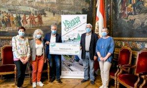 Dagli organizzatori della 'Fausto Coppi' una donazione di 3.200 euro per la Sanità cuneese