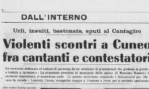 Quando anche a Cuneo scoppiò la contestazione: la protesta contro il Cantagiro del 1969
