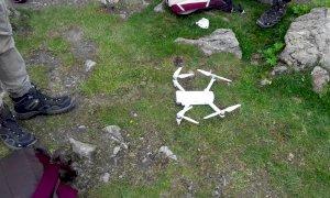 Crissolo, con il drone nel Parco del Monviso (senza autorizzazione): multato di mille euro