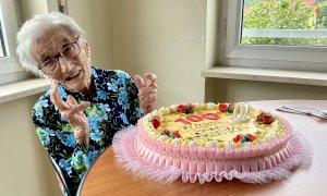Chiusa di Pesio fa gli auguri a Beatrice Basso per il centesimo compleanno