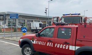 La provinciale tra Cuneo e Caraglio bloccata a San Defendente per una fuga di gas