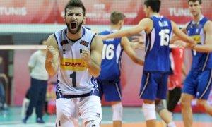 Pallavolo, il campione azzurro Damiano Catania approda a Cuneo