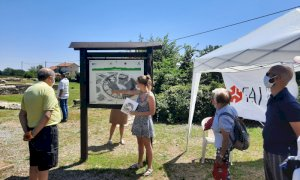 Sessantacinque visitatori per la ripartenza delle Giornate Fai organizzate dalla delegazione di Cuneo